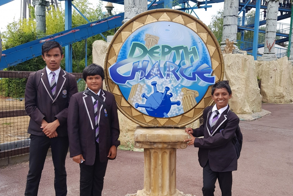 activity day reward trip to thorpe park
